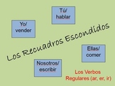 Interactive Spanish Verb Activity (Regular Verbs - AR, ER, IR)