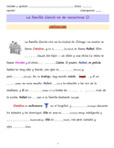 Interactive Spanish reading: Vamos de viaje (Avancemos 2 U1L1)