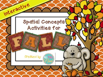 Interactive Spatial Concepts Activities for Fall