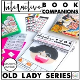 Interactive Speech Therapy Book Companion: 18 Old Lady Books