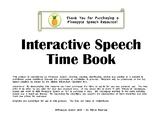 Interactive Speech Time Book