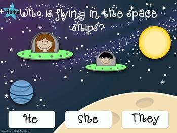 Interactive Speech and Language space Unit: No print No Prep!