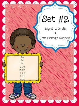 Interactive Spelling Curriclum and Working with Words, List 2