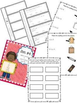 Interactive Spelling Curriculum and Working With Words BUNDLE, Lists 1-9