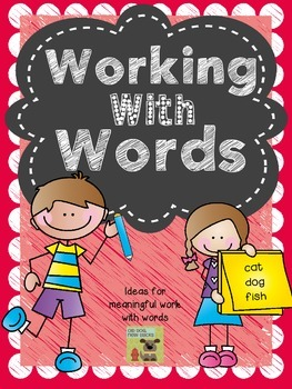 Interactive Spelling Curriculum and Working with Words