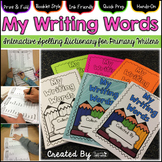 Spelling Dictionary & Interactive Activities for Primary Writers