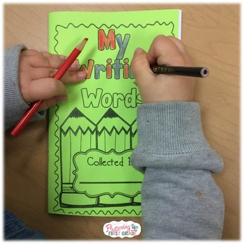 Student Dictionary: Spelling Dictionary & Activities for Primary Writers