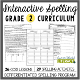 Interactive Spelling Grade 2 Year-Long Curriculum