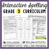 Interactive Spelling Grade 3 Year-Long Curriculum