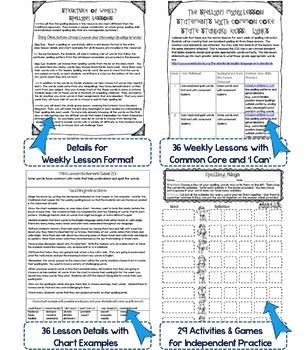 Interactive Spelling Grade 3 Year-Long Curriculum