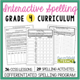 Interactive Spelling Grade 4 Year-Long Curriculum