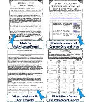 Interactive Spelling Grade 5 Year-Long Curriculum