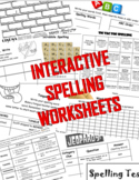 Interactive Spelling Program (Works with Words Their Way)