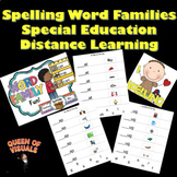 Interactive Spelling Word Families Special Education Googl