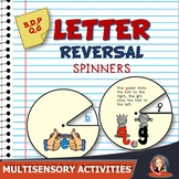 Letter Reversal Interactive Spinners for Letters b d p q g