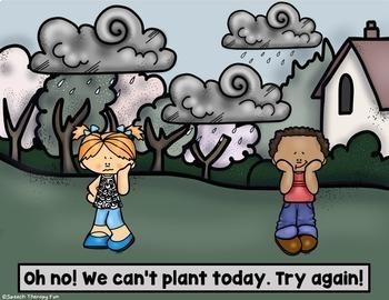 No Print Pronouns - Spring Gardening