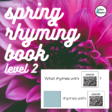Interactive Spring Rhyming Book Level 2