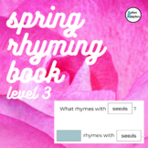 Interactive Spring Rhyming Book Level 3