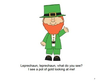 Interactive St. Patrick's Day Books (Bundle) - PRE-K / AUTISM