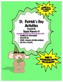Interactive  St. Patrick's Day Literacy and Math Centers Activities
