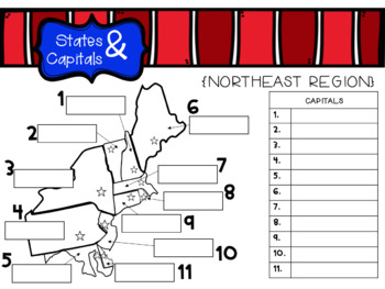 Interactive States and Capitals Practice for Google Slides   TpT on