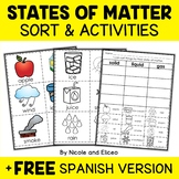 States of Matter Sort Activities
