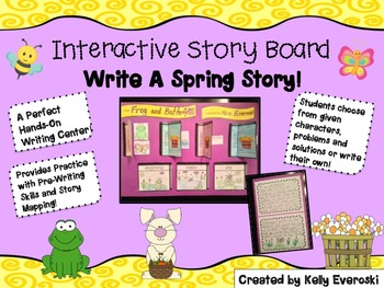 Interactive Story Board - Write a Spring Story!