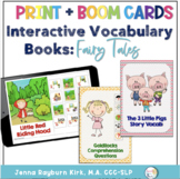 Interactive Story Book: Fairy Tales (Print and Boom Cards™️)