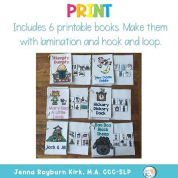 Interactive Story Book: Nursery Rhymes