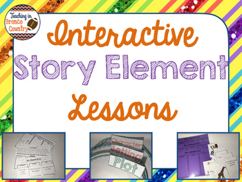 Interactive Story Element Lessons