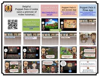 Interactive Story Telling iPad App-tivity{Movie Making & Narrative  StoryWriting}
