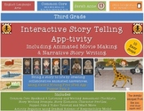 Interactive Story Telling, Writing & Movie Making  iPad Ap