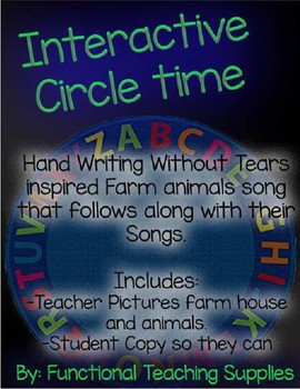 Interactive Story Time - Hand Writing Without Tears inspired Farm song