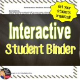 Interactive Student Notebook (BINDER) Directions & Grading Rubric