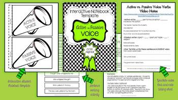 Interactive Student Notebook Templates: ELA BUNDLE!