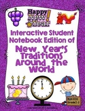 New Year's Traditions Around the World Interactive Notebook Edition