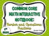 Math Interactive Notebook {Fractions}