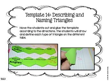 Math Interactive Notebook {Geometry}
