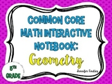Math Interactive Notebook {Geometry}