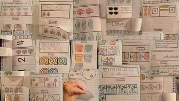 Interactive Student Notebook Kindergarten Bundle