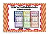 Interactive Student Notebook Kindergarten Bundle