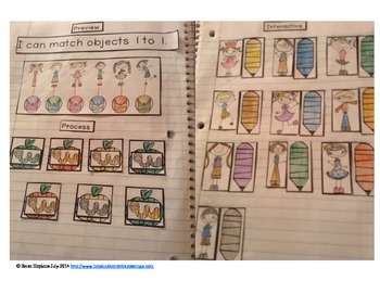 Interactive Student Notebook Numbers to 10
