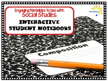 Interactive Student Notebook Printables Social Studies (ISN)