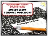 Interactive Student Notebook Printables Social Studies (ISN)