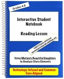 Interactive Student Notebook Reading Lessons - Analyzing S
