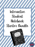 Interactive Student Notebook Starter Bundle