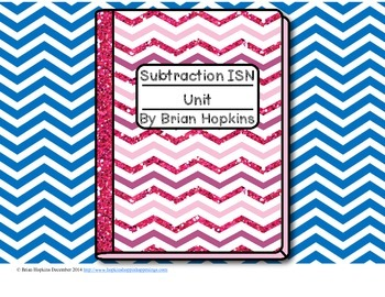 Interactive Student Notebook Subtraction