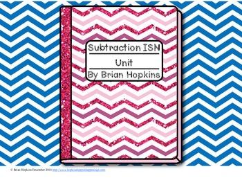 Interactive Student Notebook Subtraction