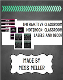 Interactive Student Notebooks - Set Up & Labels for Classroom Use