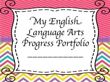Interactive Student Progress Portfolio - Grade 4 English L